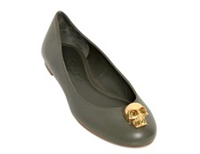 Ballet shoes Alexander Mcqueen by modates.gr
