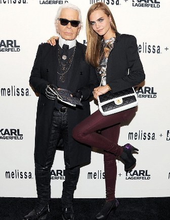 Fashion news Karl&Cara Delavingne by modates.gr