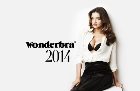Fashion news Miranda Kerr&Wonderbra by modates.gr