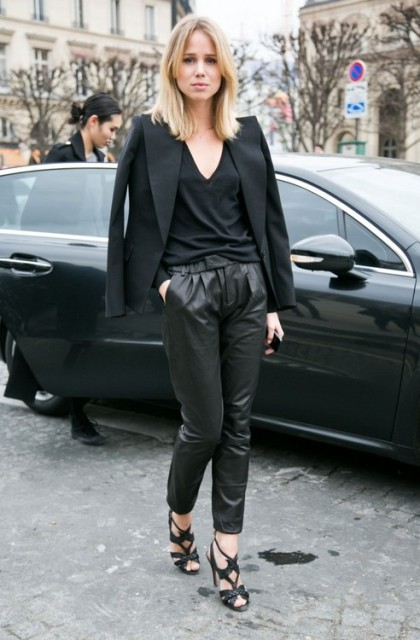 Leather pants 3 b y modates.gr