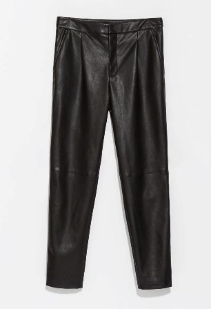 Leather pants Zara 2 by modates.gr