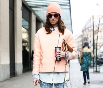 Pastels pink