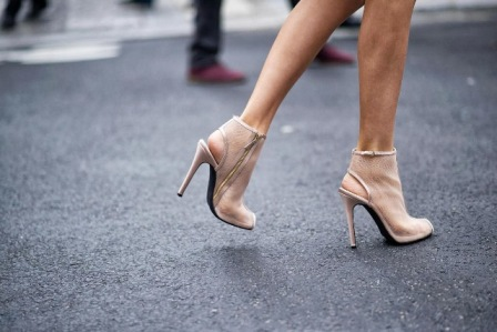Shoes nude by modates.gr
