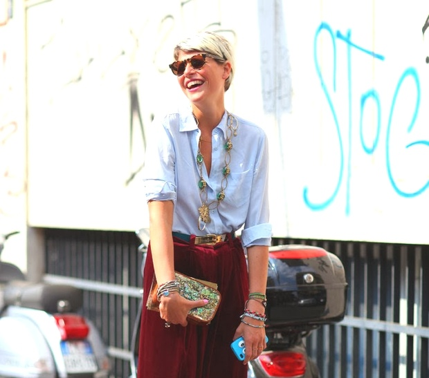 Street style Milan by modates.gr