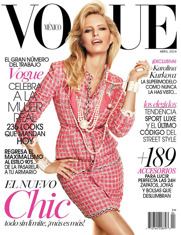 Covers lovers Vogue Mexico April 2014 by modates.gr