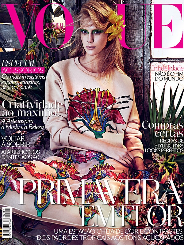 Covers lovers Vogue Portugal April 2014 by modates.gr