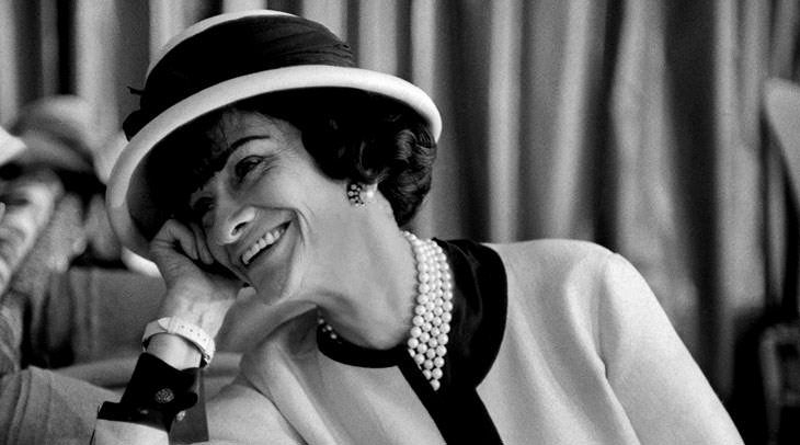 Fashion icons Coco Chanel by modates.gr