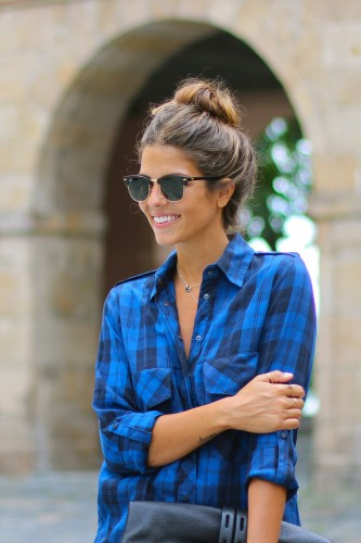 Plaid shirt for Summer