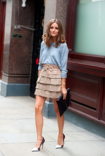 Olivia Palermo for Modates.gr