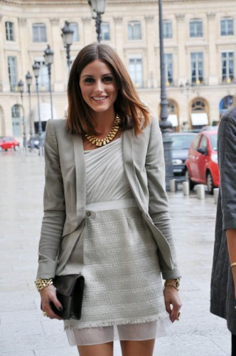 Olivia Palermo in Paris for Modates.gr