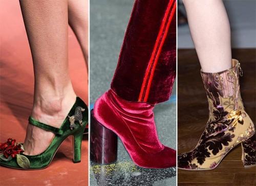 velvet shoes by modates.gr