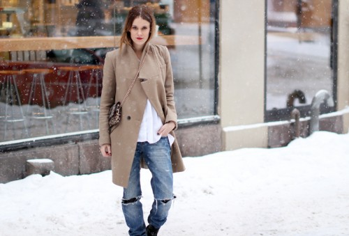 modates winter day look